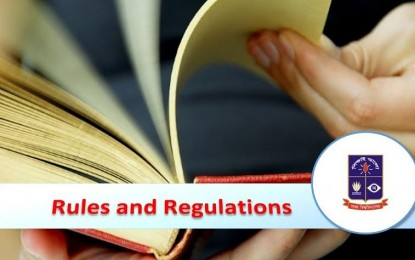 Rules and Regulations : BSS (Honours)