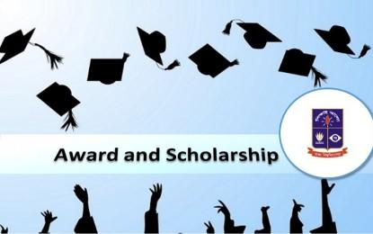 Award and Scholarship