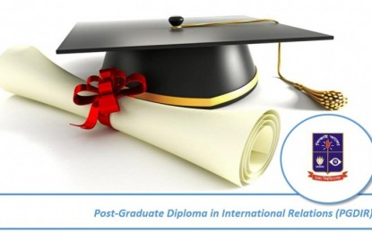 Post-Graduate Diploma in International Relations (PGDIR)