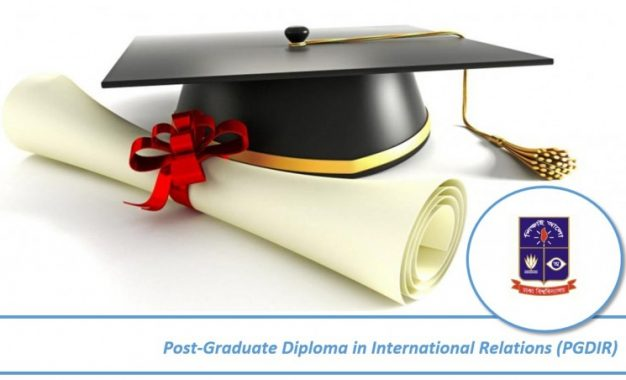 Admission Announcement: Postgraduate Diploma in International Relations (PGDIR), Summer-2016