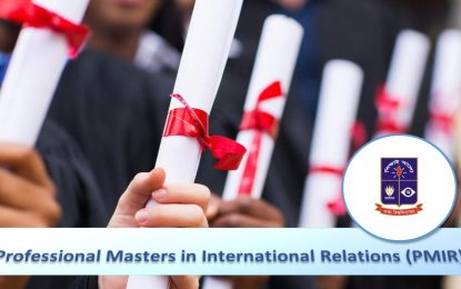Professional Masters in International Relations (PMIR) – Summer 2017: Application Process for Admission is Now Open