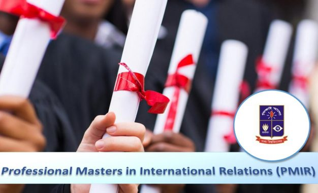 Professional Masters in International Relations (PMIR) – Spring 2019 : Application Process for Admission is Now Open