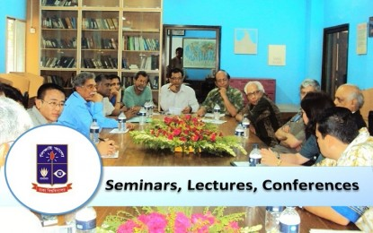 Seminars, Workshops and Lectures at a glance