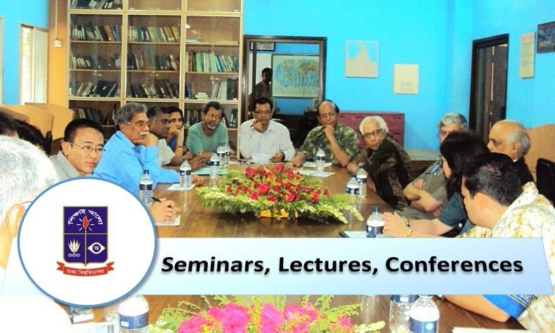 Seminars, Lectures, Conferences